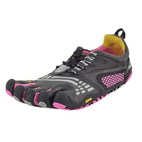 - Vibram Women's FiveFingers, KomodoSport LS Multi-Sport Minimalist Shoe Gray Pink 3.8 M