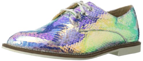 Luichiny Womens Lucky Girl Oxford Snake Pearl