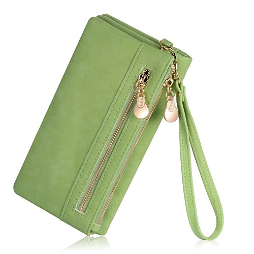 Womens Wristlet Clutch Wallet Holder product image