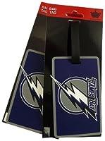 NHL Tampa Bay Lightning Two Pack Soft Laser Bag Tag