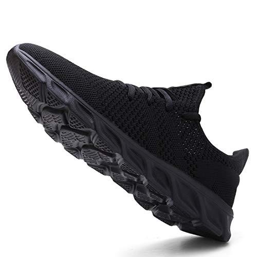 Femme Chaussures de Running pour Course Sports Fitness Respirant Mesh Gym Outdoor Trail Jogging Walking Tennis Baskets… 4