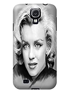 Marilyn Monroe designed phone protection case For Samsung Galaxy S4 with Fresh Patterns