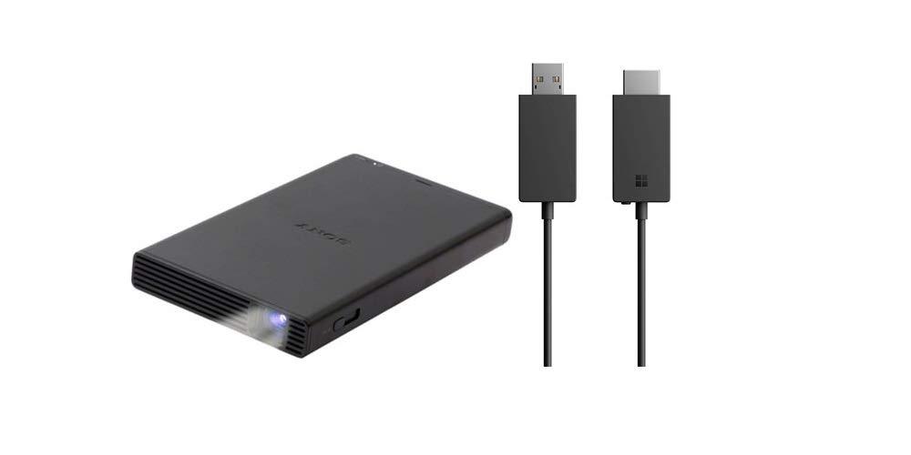 Sony MP-CD1 Portable Pico , Pocket- Sized, HDMI/MHL, DLP, Short-Throw, 120 Screen, 5000mAh Built-in Battery, Built-in Speaker, WVGA 854 x 480