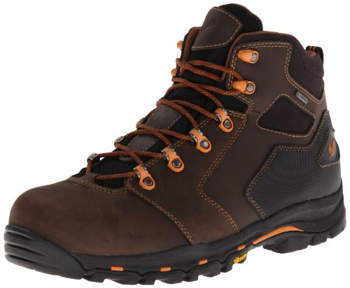 (Danner Men's Vicious 4.5-Inch Work Boot,Brown/Orange,11.5 D US)