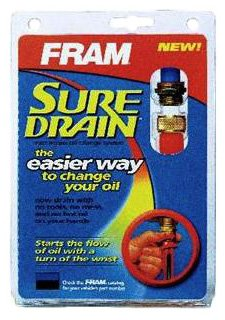 FRAM SD3 SureDrain Fast Access Oil Change Drain Plug System