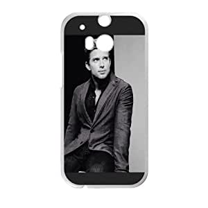 John Newman HTC One M8 Cell Phone Case White pvn