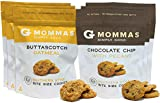 Cheap Chocolate Chip Cookies with Pecans and Butterscotch Oatmeal Cookies – G Mommas Homemade Cookies (6 Pack Variety)