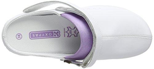 Oxypas Doria, Zapatos de seguridad, Mujer Blanco (Lic)