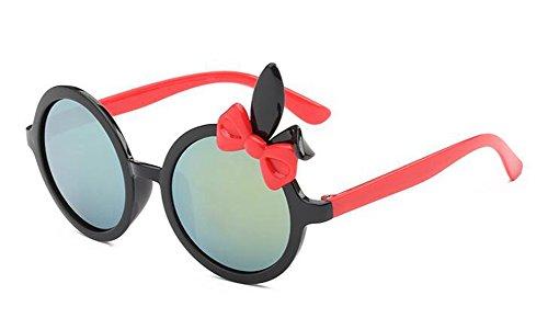 soleil du Lennon lunettes cercle métallique rond Cadre polarisées en retro style de vintage Noir inspirées Rwnqx54np