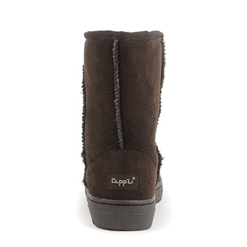 Emma CLPPLI Womens Waterproof Boots Chocolate Winter Snow CLPPLI Womens xtwpFUU