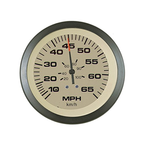 Sierra International 59704P Sahara Pitot Type 65 MPH Speedometer Kit, 3""