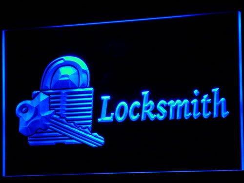 Locksmith Keys Shop OPEN Bar LED Sign Neon Light Sign Display i714-b(c)