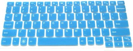 11 inch Yoga 11 Yoga 2 S210 Yoga11 Ideatab K3011W if your enter key looks like 7, our skin cant fit BingoBuy Semi-Blue Backlit Ultra Thin Silicone Keyboard Protector Skin Cover for Backlit IBM Lenovo IdeaPad S206 with BingoBuy Card Case for Cr