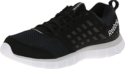 Reebok Women's, Z Dual Ride Running Shoe Black Gray White 7 M