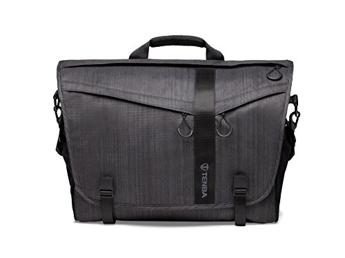 Tenba Messenger DNA 15 Camera and Laptop Bag - Graphite (638-381) by Tenba