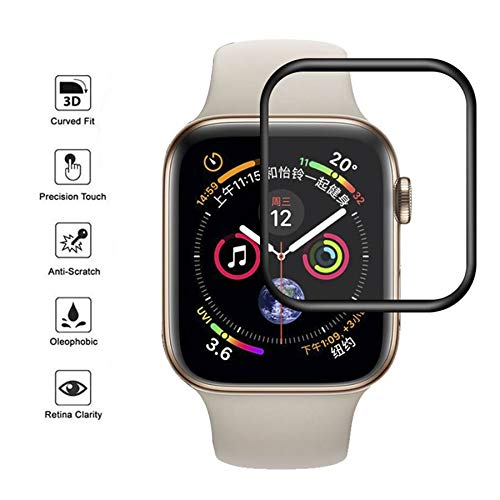 BATOP Apple Watch Screen Protector || Screen Protector Film for Apple Watch Full Cover 3D