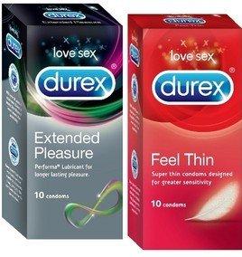 Durex Love Sex Combo 1 Condom(set of 2, 20 Condoms)
