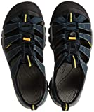 KEEN mens Newport H2 Sandal , Navy/Medium Grey