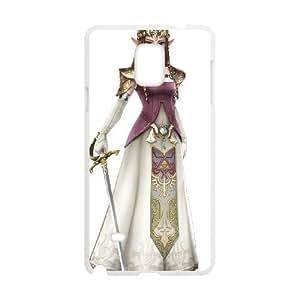 Samsung Galaxy Note 4 Cell Phone Case White Super Smash Bros Princess Zelda BNY_6802645