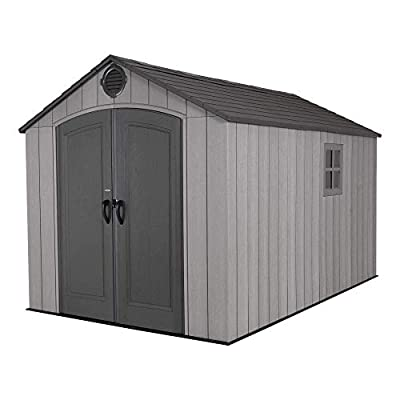 Lifetime Outdoor Storage Shed 8×12.5 Review