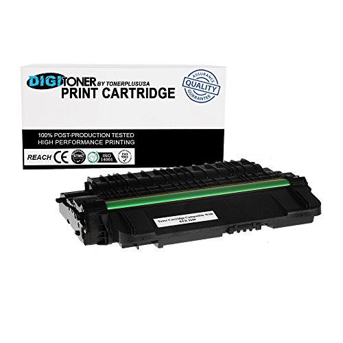 DigiToner® Compatible Xerox 106R01374 106R1374 High Yield 5,000 Page Black Laser Toner Cartridge Replacement for Phaser 3250 (Capacity High Cart Phaser)