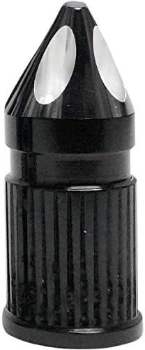 エイボン AVON バルブキャップ スパイク 黒 0361-0077 SVC-308-ANO-SPK