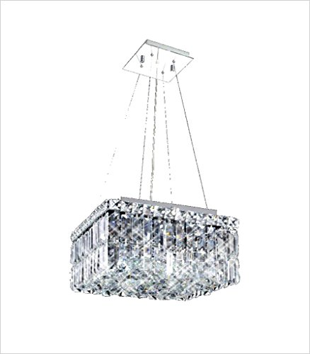 Maxim Square Crystal Chandelier - Maxim Square Chandelier