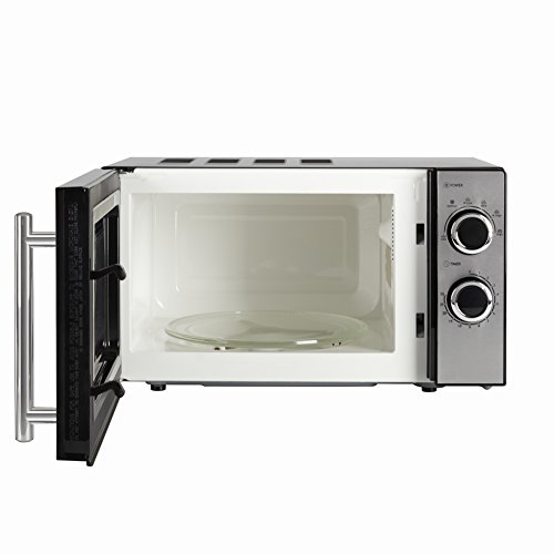 -[ Tower T24015 Microwave Featuring 5 Power Levels, 20 L, 800 W-Black  ]-