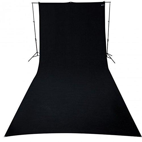 Westcott 138 9x20-Feet Rich Black Background by Westcott