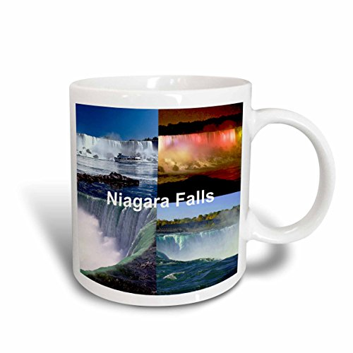 3dRose Niagara Falls Collage Mug, - Outlets In Falls Niagara