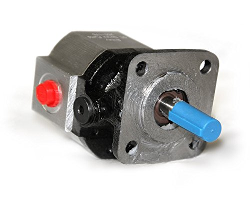 CHIEF MH Series Gear Pumps/Motors (GC Series Replacement): 0.065 CID, 0.5 @ 1800 RPM, 3000 PSI, 4-Bolt Flange Mounting, SAE 6 Side Ports, 250175