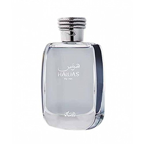 Hawas for him or her by Rasasi perfumes 100ml Eau de Parfum - USA Seller (For him) by Decorinhome