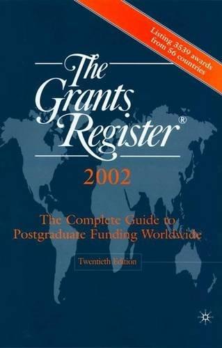 The Grants Register, 2002