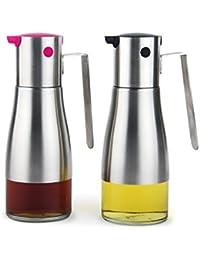 Gain Controllable Oiler Sealed Leak Proof Oil Bottle Soy Sauce Seasoning Bottle,2/Group opportunity