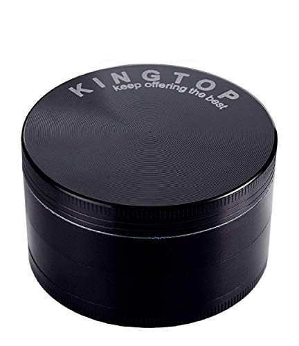(KINGTOP Herb Spice Grinder Large 3.0 Inch)
