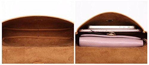 Leather Crasy Shoulder Cellphone Grey Bag Body Shop Ladies Women Wallet PU Pouch Bag Single Mini Classic Cross IUwrI