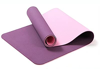 AOQING Yoga Mat Multipurpose Workout Pad - Perfect for Gym, Pilates, Home Exercise & Outdoor Activities and Ultra Lightweight Exercise