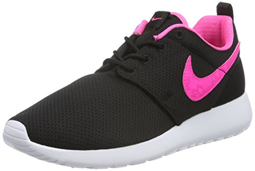 Nike Shoe EU Black Mixte Schwarz Green Blast Varsity White 5 Chaussures 35 Classic Noir Black Roshe One 014 GS Red Enfant de Running white Pink rwq1rt