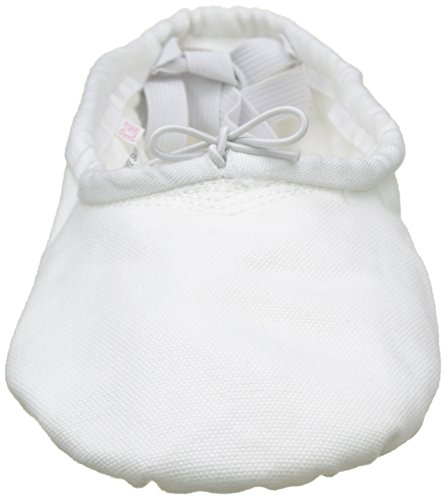 Da Sansha Danza nbsp;c Modello Demi 1 Pro1 pointes Adulti Bianco Pantofole Classica nbsp;c In Scarpe Tela rr5UExqF