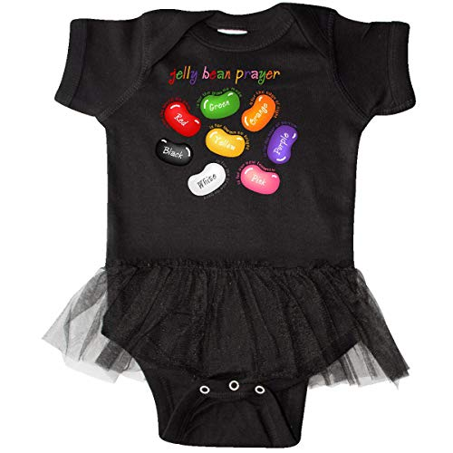 inktastic - Jelly Bean Prayer Infant Tutu Bodysuit 12 Months Black 17cad
