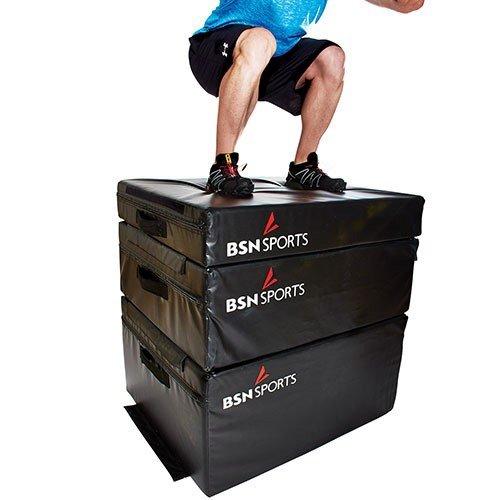 Wilder Fitness Equipment Plyometric Foam Box - Set of 3 by TACVPI