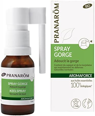 AROMAFORCE SPRAY GARGANTA 15 ML: Amazon.es: Alimentación y bebidas