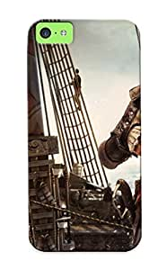 Crazinesswith Case Cover Edward Kenway Assassin Creed Iv Black Flag/ Fashionable Case For Iphone 5c