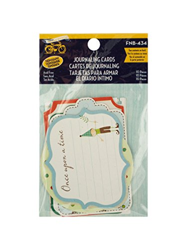 StealStreet SS-KI-CG399 Journaling Cards with Gloss Accents