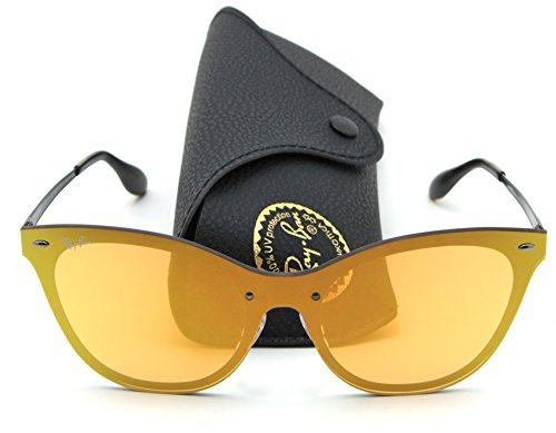 Ray-Ban RB3580N BLAZE CAT EYE Mirror Sunglasses 90377J, 43mm (Glasses Eye Cat Ray Ban)