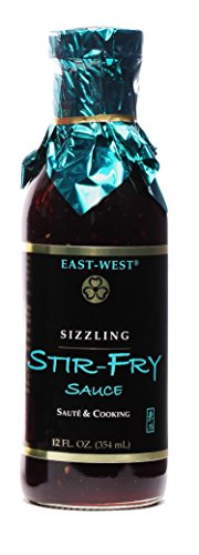 (East-West Specialty Sauces, Sizzling Stir-Fry, 12 Ounce (Pack of 4) )