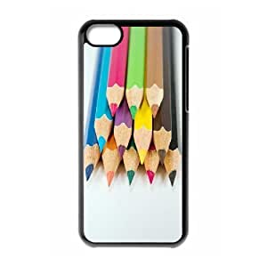 ALICASE Diy Hard Shell Case Colored Pencil For Iphone 5C [Pattern-1]