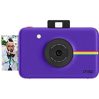Zink Polaroid Snap Instant Digital Camera (Purple) with ZINK Zero Ink Printing Technology