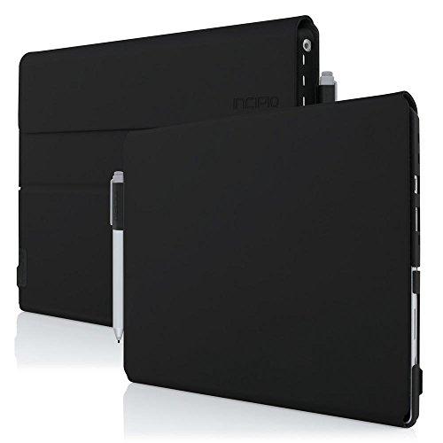 Microsoft Surface Pro 4 Case, Incipio [Folio Case][Hard Shell] Faraday [Advanced] Case for Microsoft Surface Pro 4-Black by Incipio