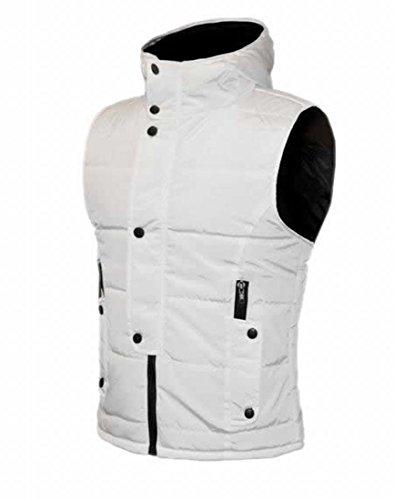 57c2cc4dee63 MLG Mens Casual Zip Hoodie Puffer Vest 60%OFF - floatingdockshop.com